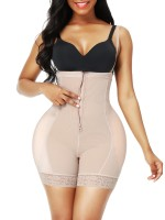 Open Crotch Skin Color Adjustable Straps Body Shaper Curve Smoothing