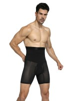 Kinetic Black High Rise 2 Boned Male Butt Lifter Waist Control