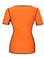Lively Orange Back Support Body Shaper Plus Size