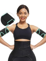 Dreamlike Lgiht Green Neoprene Arm Slimmer Adjustable Sticker High Quality