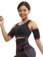 Best Tummy Rose Red Neoprene Two Pieces Sticker Arm Shaper Super Trendy