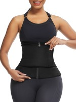 Glam Black 3 Steel Boned Neoprene Shaper Big Size Posture Correct