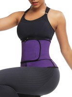 Purple Sticker Plus Size Neoprene Waist Trainer Calories Burning