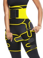Comfort Devotion Yellow Adjust Sticker Neoprene Thigh Trainer