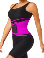 Rose Red Adjustable Neoprene Waist Shaper Belt Curve-Creating