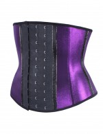Shiny Instant Slimmer Latex Workout Waist Cincher
