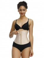 Magic Skin Color Waist Cincher Latex 13 Steel Boned For Beauty