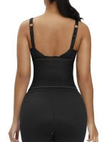 Fabulous Black Embossed Waist Trainer Moisture-Wicking High Quality