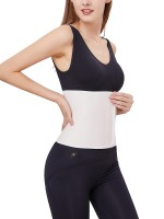 High Power White Postpartum Recovery Belly Belt Modal Posture Corrector