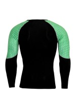 Kinetic Green Big Size Man Sport Suit Full Sleeves Activewear