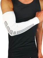 Must-Have White Running Arm Guard Elbow Sleeve For Runner
