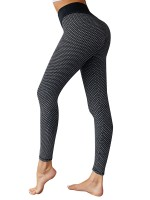 Staple Black Yoga Leggings Moisture-Wicking Seamless Sensual Silhouette