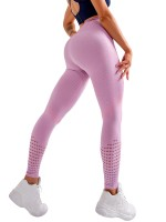 Well-Suited Purple Full-Length Yoga Leggings High Rise Best Workout