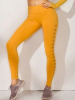 Essential Gold Mesh Yoga Legging Seamless High Waist Ultimate Comfort