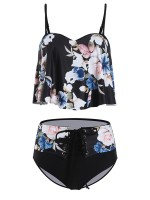 Ingenious Bikini Flower Print Sling High Rise For Every Occasion