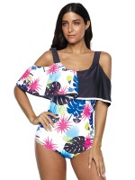 Lavish Cape Swimwear One Piece Large Size For Vacation