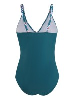 Flirting One Piece Swimsuit Cross Front Sling Swimming Time