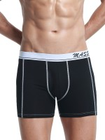 Flyaway Black Low Rise Boxer Briefs Stripe High Grade