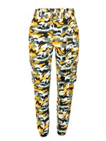 Tantalizing Jogger Pants Camo Printed With Pockets Delightful Garment