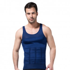 Premium Liberty Blue Belly Slimming Vest Waist Cincher Men