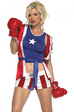 Girls Boxing Costume