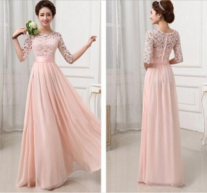 Pink Wedding Fashion Dress