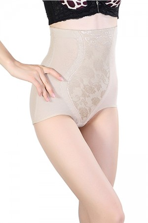 Nude High Waist Butt Lift Panty Girdle