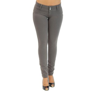 Unbelievable Haute Contour Gray Brazilian Push Up Jeans