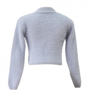 Warm Cropped Turtleneck Sweater Pullover Jumper