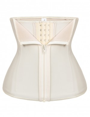 Shimmer 6 Steel Nude Zip Layers Waist Trainer Plus Slim Waist