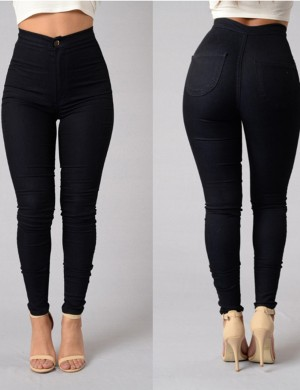 Unique Zipper Skinny Pants Ankle Length Going Out Outfits