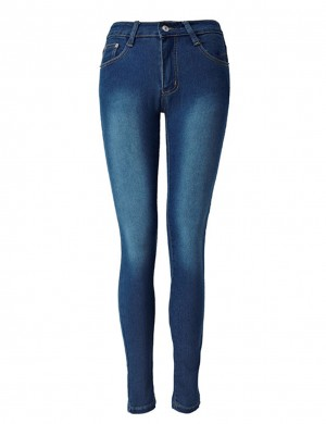 Performance High Waisted Pencil Jeans Ankle Length Hot Selling Online