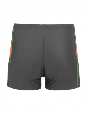 Fresh Swim Square Leg Male Trunks Large Size On-Trend Fashion