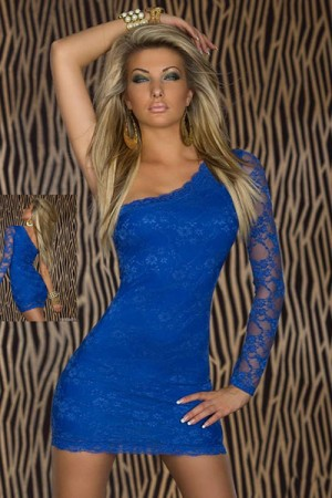 Blue Lace Clubwear