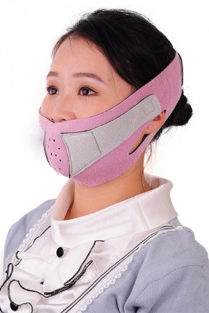 Slimming Non Surgical Sleeping Pink Face Lift Up Belt