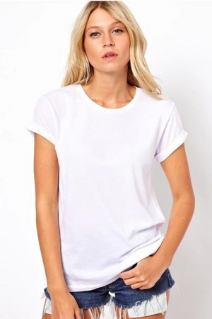 White Back Cut-Out Angel Wings T-Shirt Top