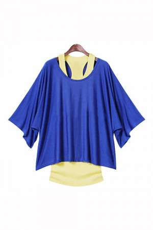 Multi Color Batwing T-shirt