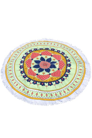 Lovely Exotic Paradise Cotton Blanket Towel