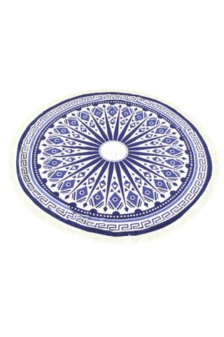 Bohemian Round Tapestry Beach Throw