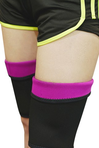 Compression Rose Red Fitness Neoprene Slimming Thighs Shaper