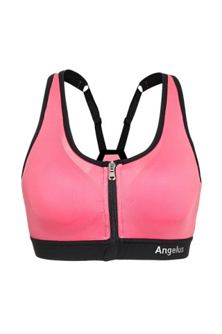 Low-Impact Activities Pink Yoga Brassiere Stretch Strap