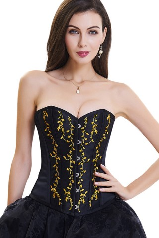 Effective Hook Eyes Closure 10 Plastic Bones Bustier Tops