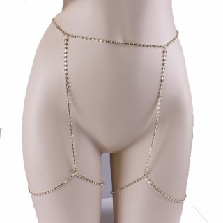 Comely Silver Garter Belt Belly Chain Thigh Hip Body Jewelry For Cutie