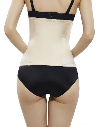 Nude 2 Steel Boned Waist Shaper No Curling Correct Posture