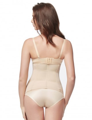Waist Control Nude Big Waist Slimmer 3 Hook Rows Leisure Fashion