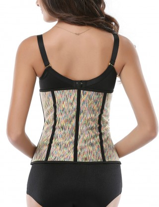 Explicitly Chosen Underbust Queen Size Waist Training Burst Sweat