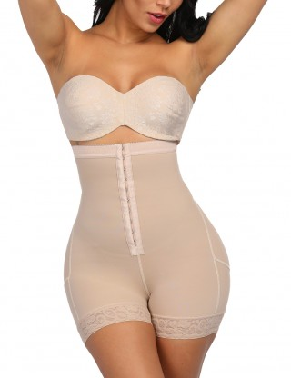 Nude High Waist Plus Size Body Shaper Buttock Lifter Curve Creator