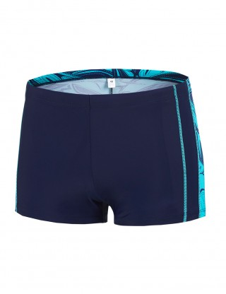 Captivating Square Cut Male Tight Shorts Swimwear Beach Stunner