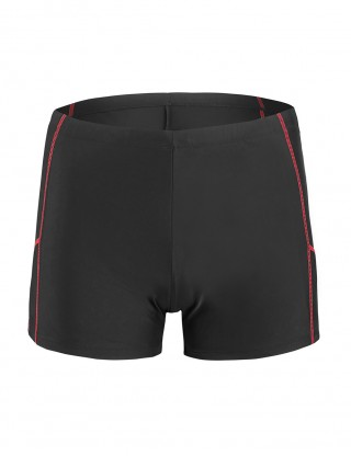 Ingenious Male Plus Size Swimming Board Short Square Cut Online