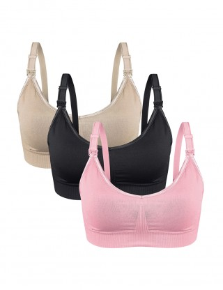 Mystical 3 Pack Clip Down Nursing Bra Free-Wire Ultra Sexy